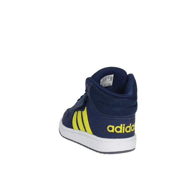 <Adidas Shoes High Sneakers Blue B75947