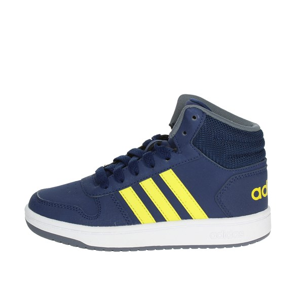 Adidas Shoes High Sneakers Blue B75745