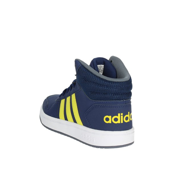 <Adidas Shoes High Sneakers Blue B75745