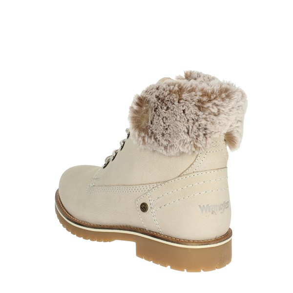 <Wrangler Shoes Boots Creamy-white WL182502