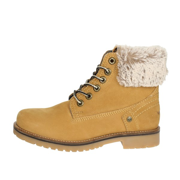 Wrangler Shoes Boots Yellow WL182502