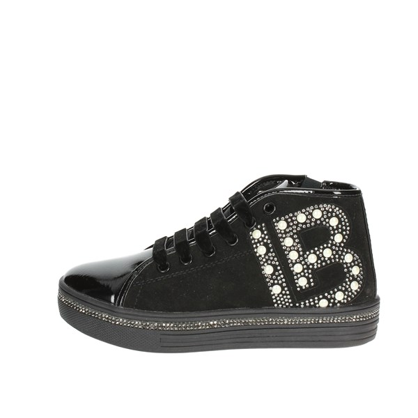 Laura Biagiotti Dolls Shoes Sneakers Black 4590