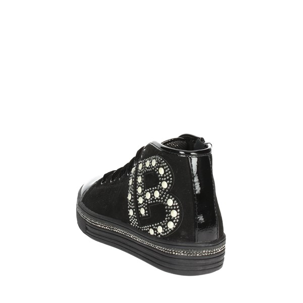 <Laura Biagiotti Dolls Shoes Sneakers Black 4590