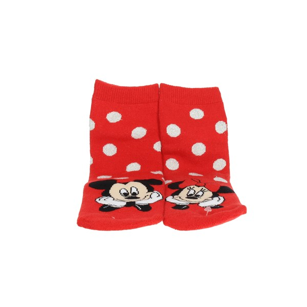 Disney Minnie Mouse Accessories Socks Grey/Red 71055P