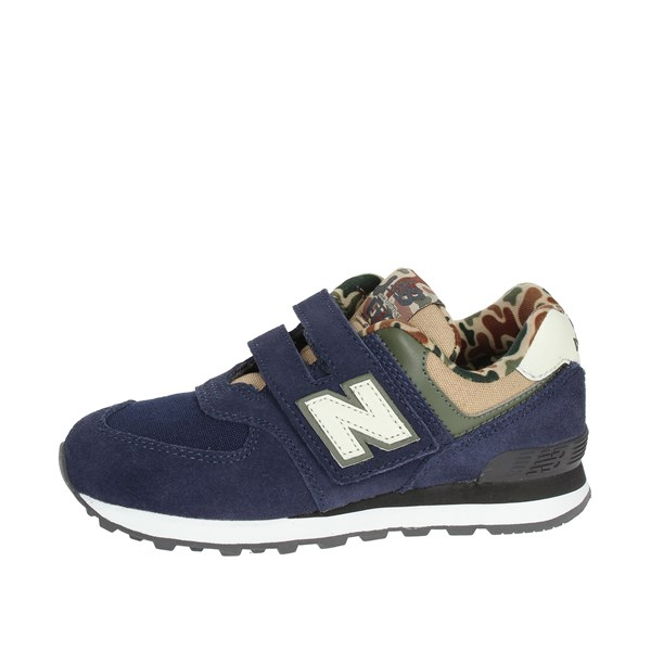 New Balance Shoes Low Sneakers Blue YV574HN