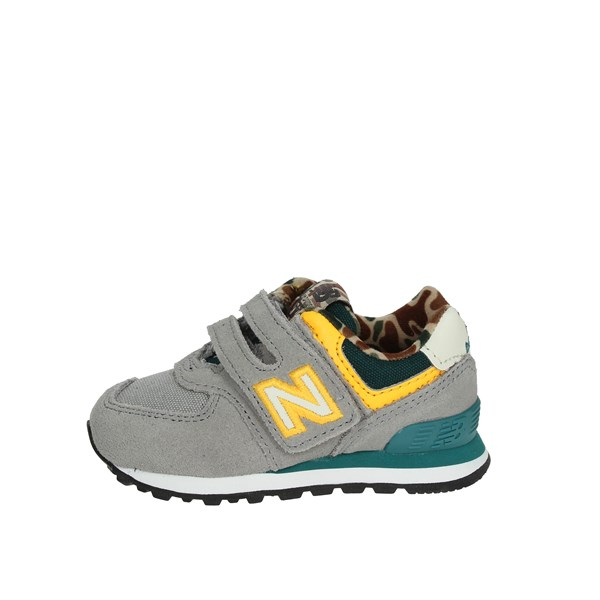 New Balance Shoes Low Sneakers Grey IV574HT