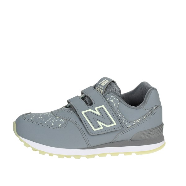 New Balance Shoes Low Sneakers Grey YV574KG