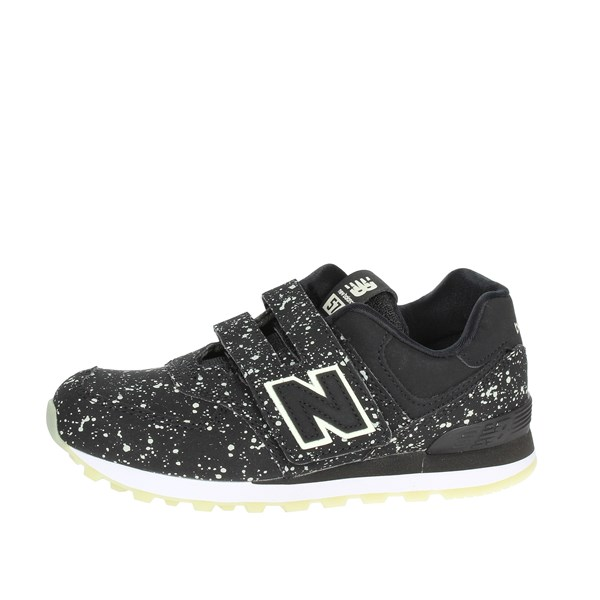 New Balance Shoes Low Sneakers Black YV574KB