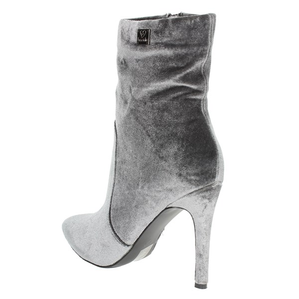 Braccialini Shoes Ankle Boots Grey TA112