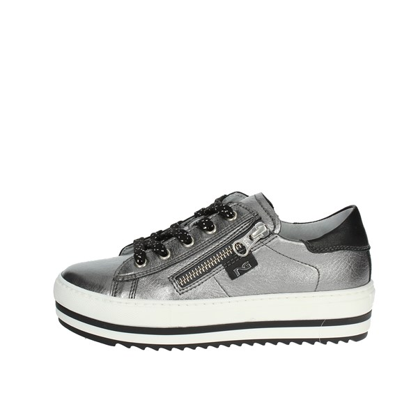 Nero Giardini Shoes Low Sneakers Charcoal grey A830613F 700
