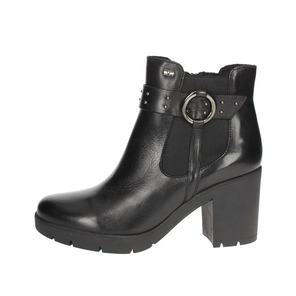 Valleverde Shoes Ankle Boots Black 49575