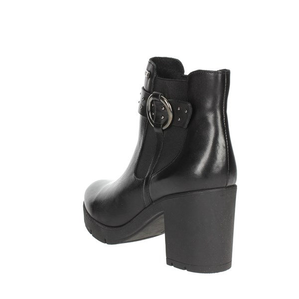 <Valleverde Shoes Ankle Boots Black 49575