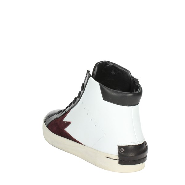 <Crime London  Shoes High Sneakers White/Black 11020AA1.10