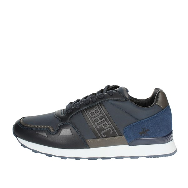 Beverly Hills Polo Club Scarpe Uomo Sneakers BLU BH-4011