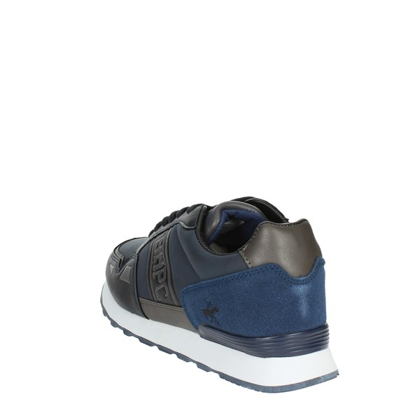 <Beverly Hills Polo Club Scarpe Uomo Sneakers BLU BH-4011