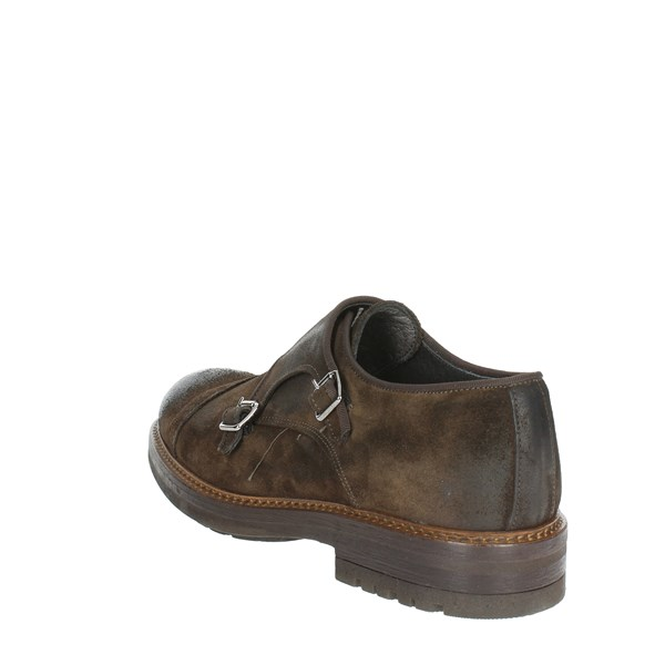 Exton Shoes Brogue Brown 691