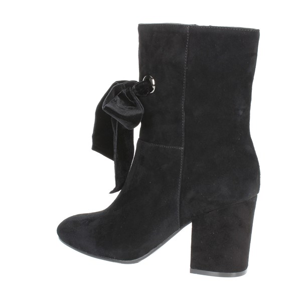 Luciano Barachini Shoes Ankle Boots Black BB241A