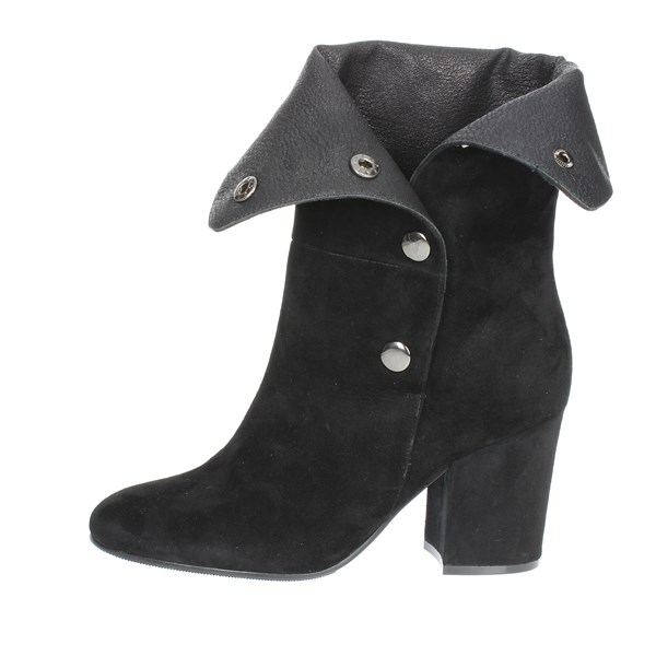 Luciano Barachini Shoes Ankle Boots Black BB245A