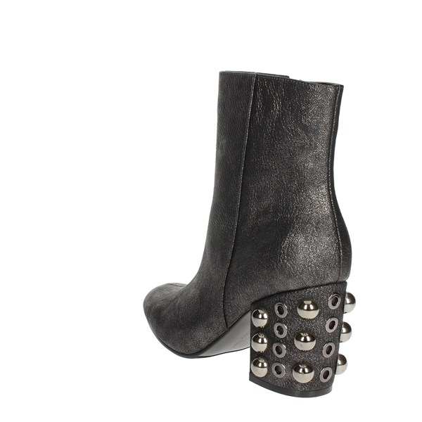 Luciano Barachini Shoes Ankle Boots Charcoal grey BB242V
