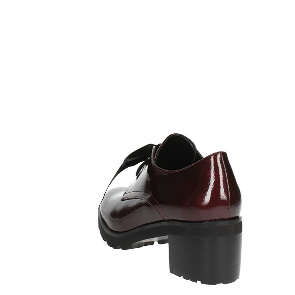 Luciano Barachini Shoes Brogue Burgundy BB171N