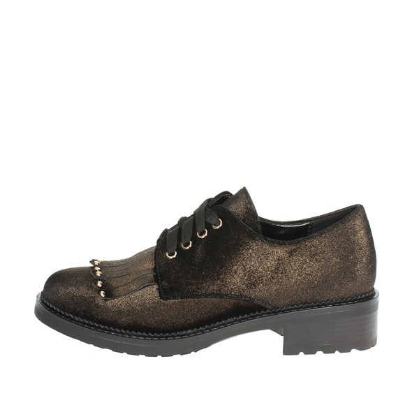 Luciano Barachini Shoes Brogue Bronze  BB163X