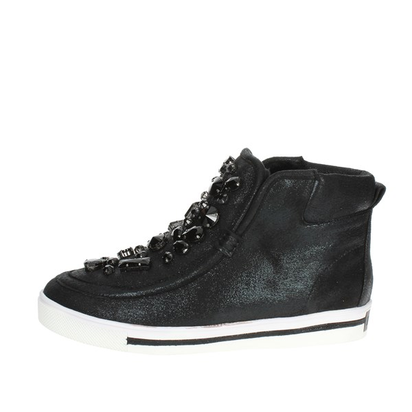 Luciano Barachini Shoes Sneakers Black BB103A