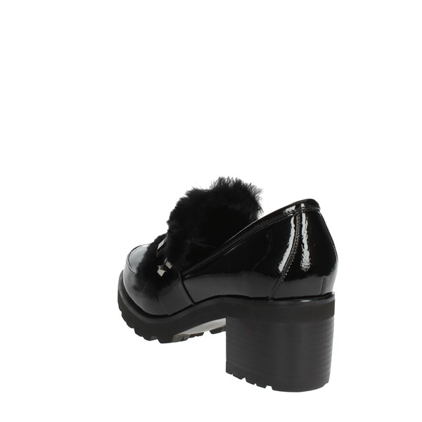 Luciano Barachini Shoes Moccasin Black BB174C