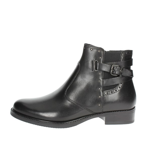 Valleverde Shoes Ankle Boots Black 47601