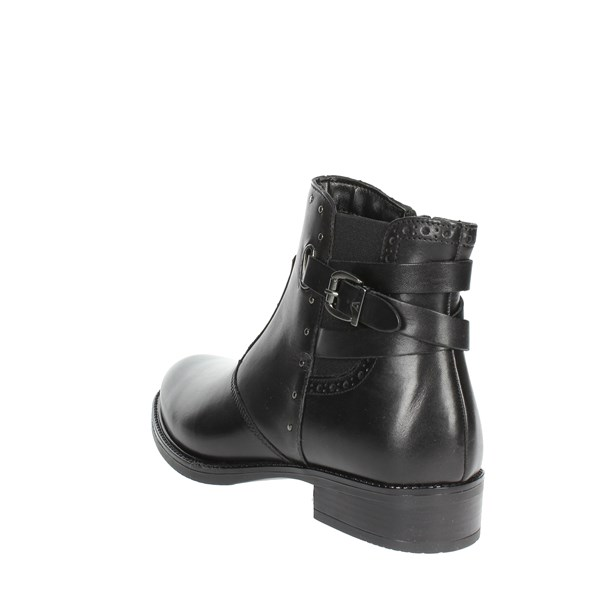 <Valleverde Shoes Ankle Boots Black 47601