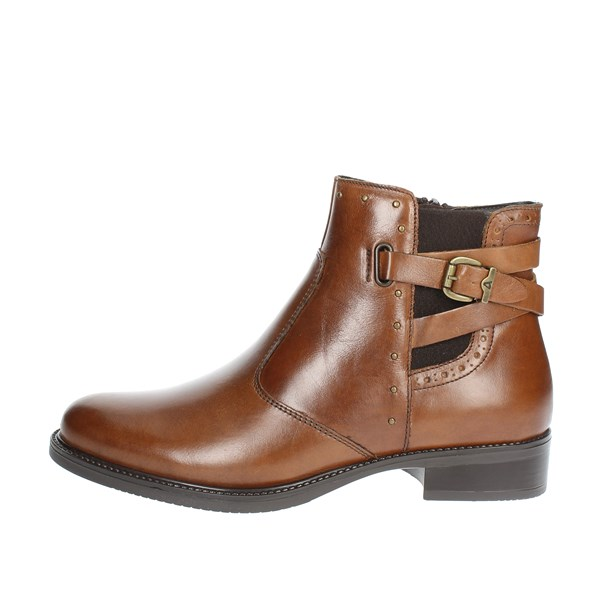 Valleverde Shoes Ankle Boots Brown leather 47602