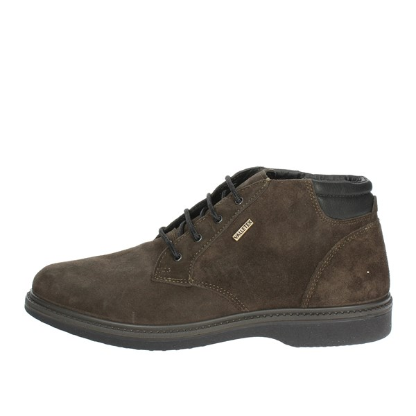 Valleverde Shoes Laced Charcoal grey 51812