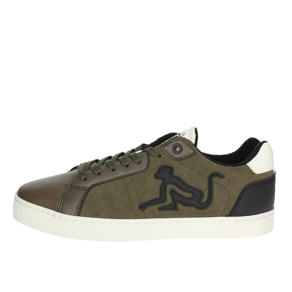 Drunknmunky Shoes Sneakers Dark Green NEW ENGLAND SUEDE