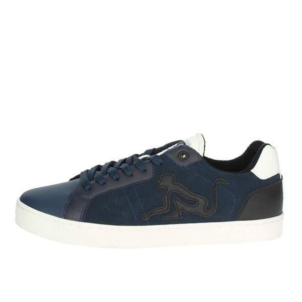 Drunknmunky Shoes Sneakers Blue NEW ENGLAND SUEDE