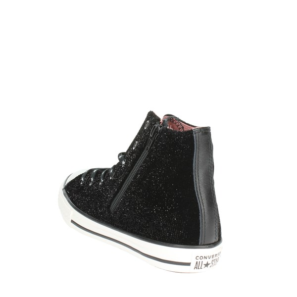 <Converse Shoes High Sneakers Black 662714C