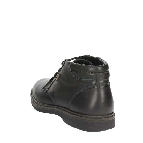 Valleverde Shoes Laced Black 51812