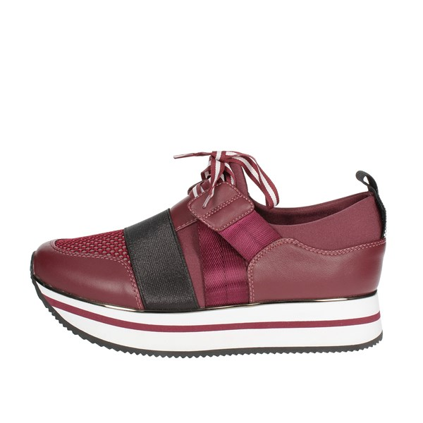 Fornarina Shoes Sneakers Burgundy PI19TINA3