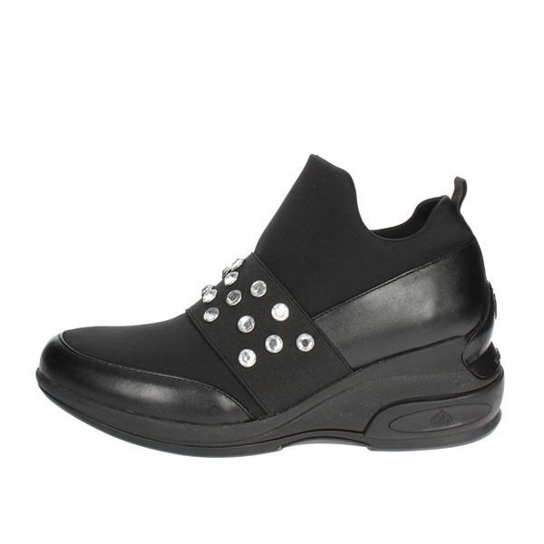Fornarina Shoes Sneakers Black PI19DAILY1