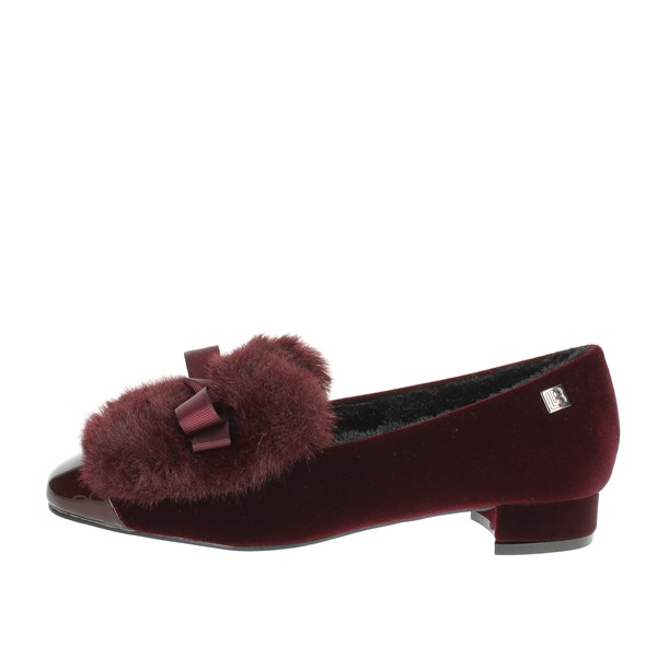 Laura Biagiotti Shoes Ballet Flats Burgundy 5065