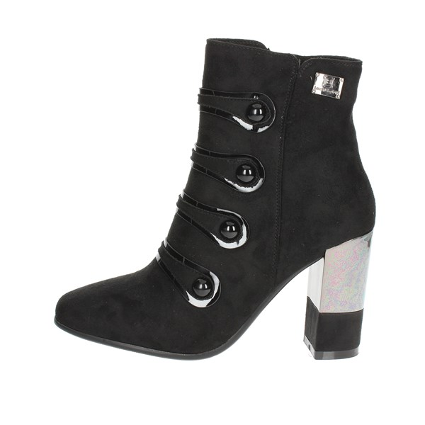 Laura Biagiotti Shoes Ankle Boots With Heels Black 5116