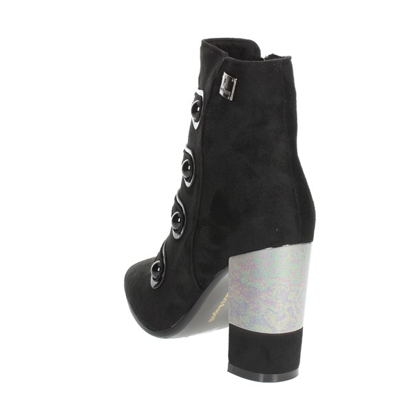 <Laura Biagiotti Shoes Ankle Boots With Heels Black 5116