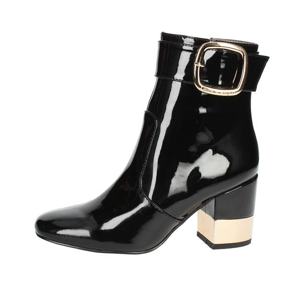 Laura Biagiotti Shoes Ankle Boots With Heels Black 5026
