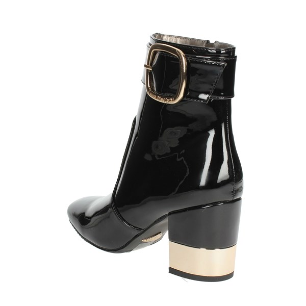 <Laura Biagiotti Shoes Ankle Boots With Heels Black 5026