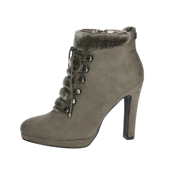 Laura Biagiotti Shoes Ankle Boots With Heels Grey 5028