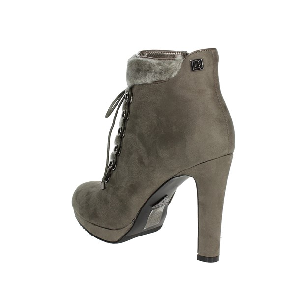 <Laura Biagiotti Shoes Ankle Boots With Heels Grey 5028
