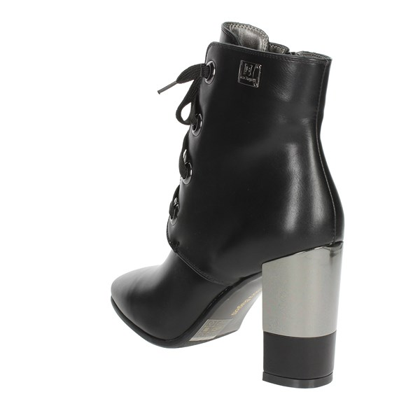 <Laura Biagiotti Shoes Ankle Boots With Heels Black 5115