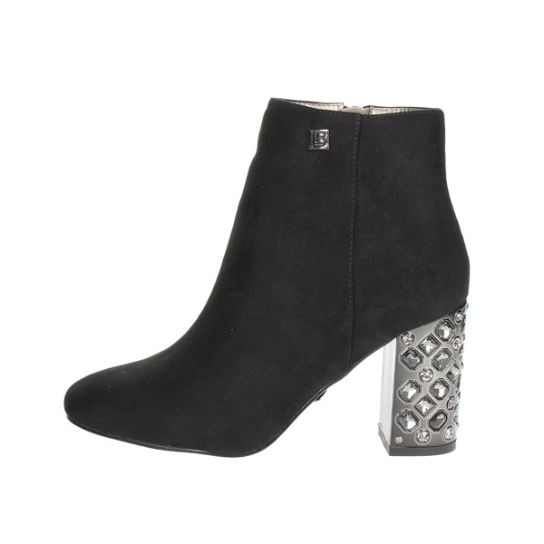 Laura Biagiotti Shoes Ankle Boots With Heels Black 5033
