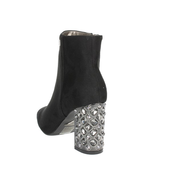 <Laura Biagiotti Shoes Ankle Boots With Heels Black 5033