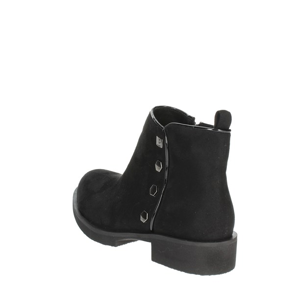 <Laura Biagiotti Shoes Ankle Boots Black 5226