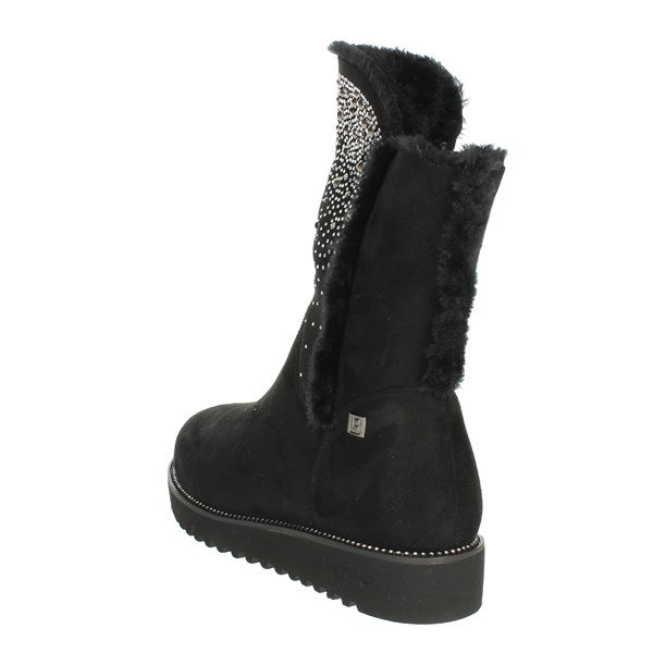 <Laura Biagiotti Shoes Ankle Boots Black 5175