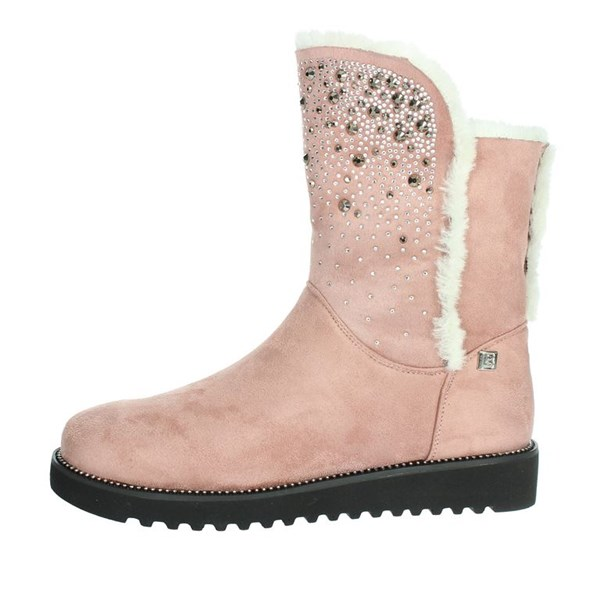 Laura Biagiotti Shoes Ankle Boots Rose 5175